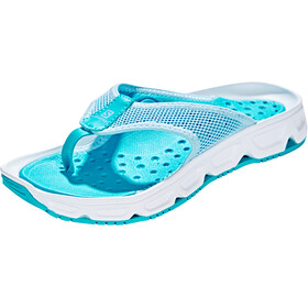 Salomon RX Break 4.0 Recovery Slides Women cashmere blue/white/bluebird